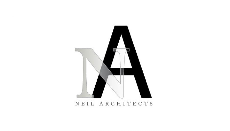 Architect Builder Construction Firm Custom Logo Design Layout