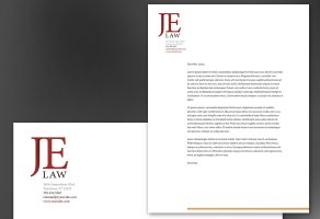 Letterhead template for Attorney Law Firm. Order Custom Letterhead ...