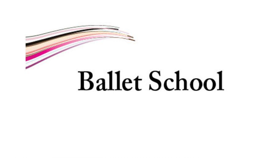 Ballet Dance School Custom Logo Design Layout