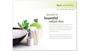 Bath body and health-Design Layout