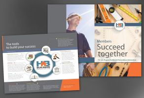 Builders Association-Design Layout