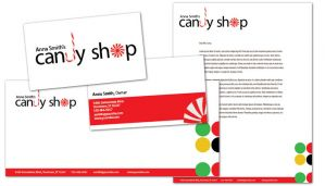 Candy Shop Confectionery-Design Layout
