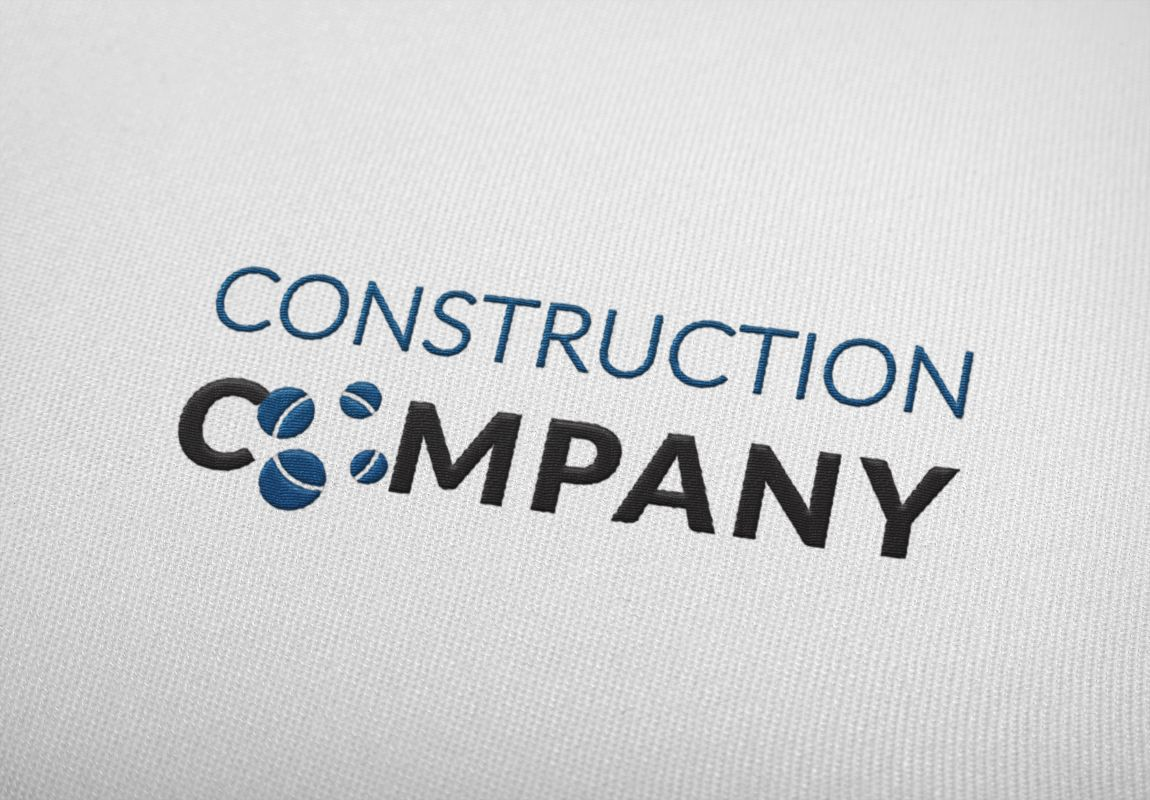 Construction Company Stationary Custom Logo Design Layout