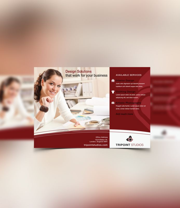 Design Company Marketing Materials Flyer Design Layout