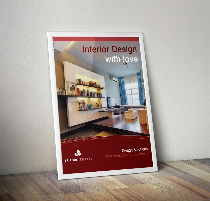Design Company Marketing Materials Poster Design Layout