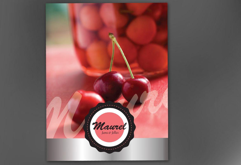 Design concept for Condiments Preserves Poster Design Layout