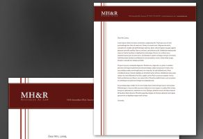 Letterhead template for Design for Attorney and Legal Firms. Order ...