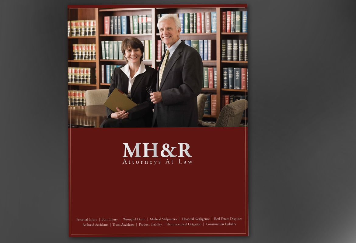 Design for Attorney and Legal Firms Poster Design Layout
