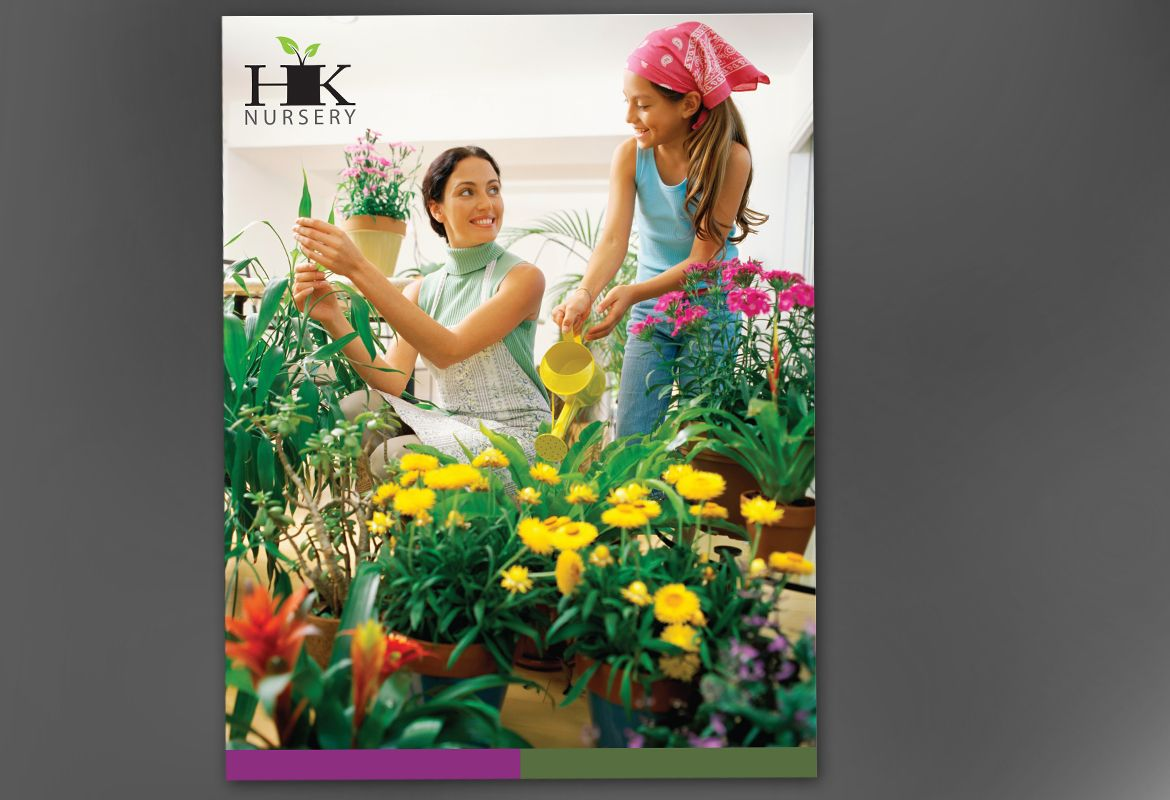 Design for nurseries amp planting centers Poster Design Layout