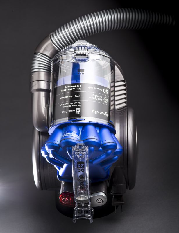 Dyson Vacuum Studio Photography Commercial Photographyand custom product photography