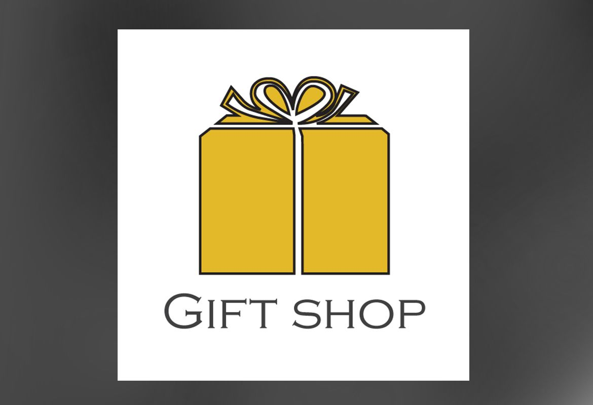 Gift shop retail store Custom Logo Design Layout