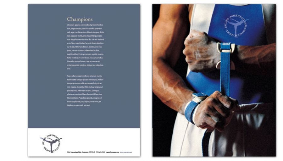 Gym Fitness Personal Trainer Flyer Design Layout