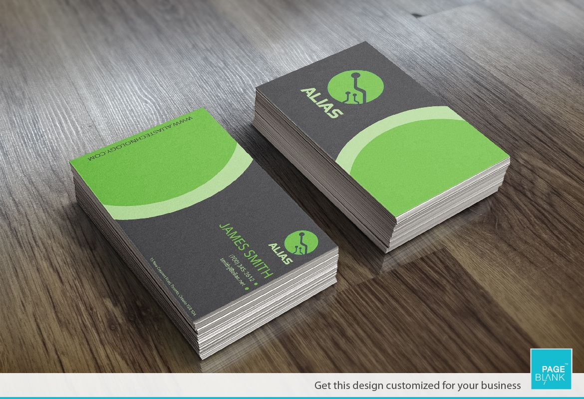 Business Card Template For High Tech Order Custom Business Card - Custom business card template