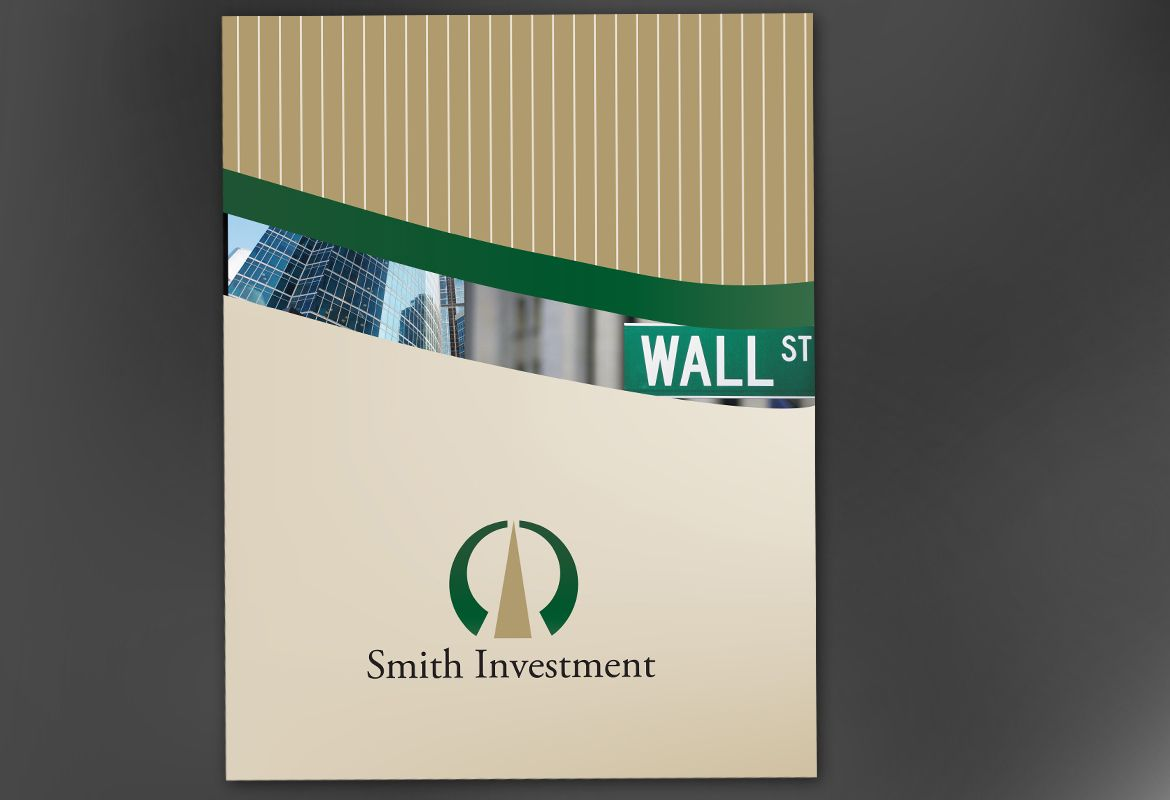 Investment and Professional Firms Poster Design Layout