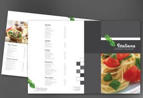 Italian restaurant-Design Layout