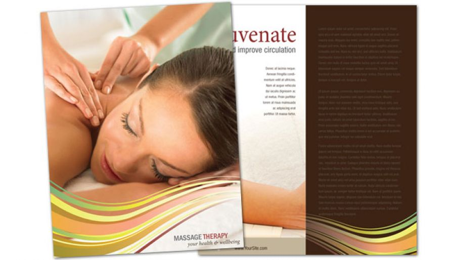 Flyer Template For Massage Chiropractor Physical Therapy Order
