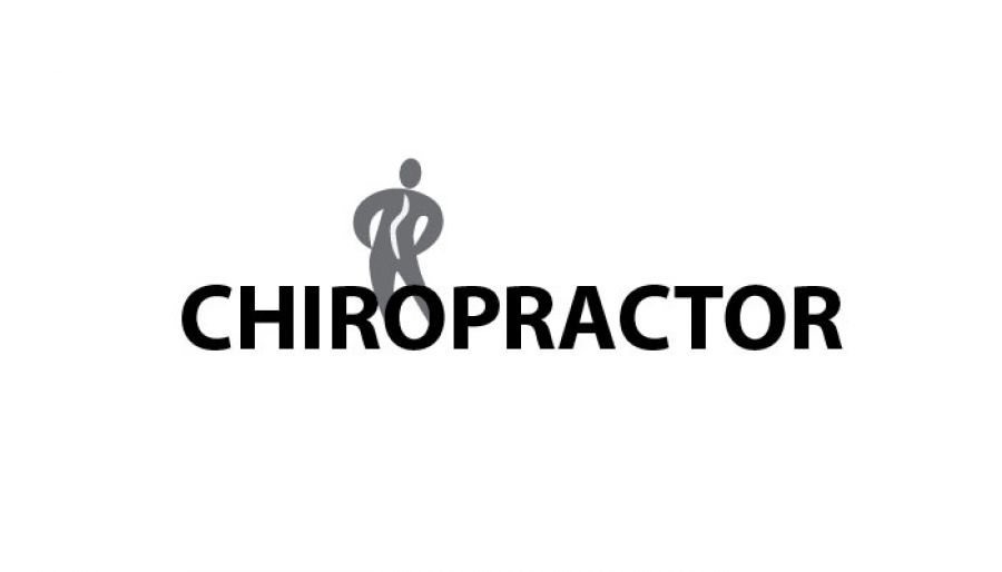 Medical Chiropractic Clinic Custom Logo Design Layout