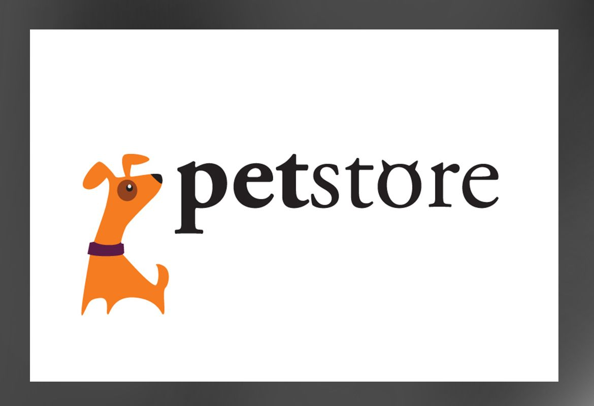 Pet Store Design Custom Logo Design Layout