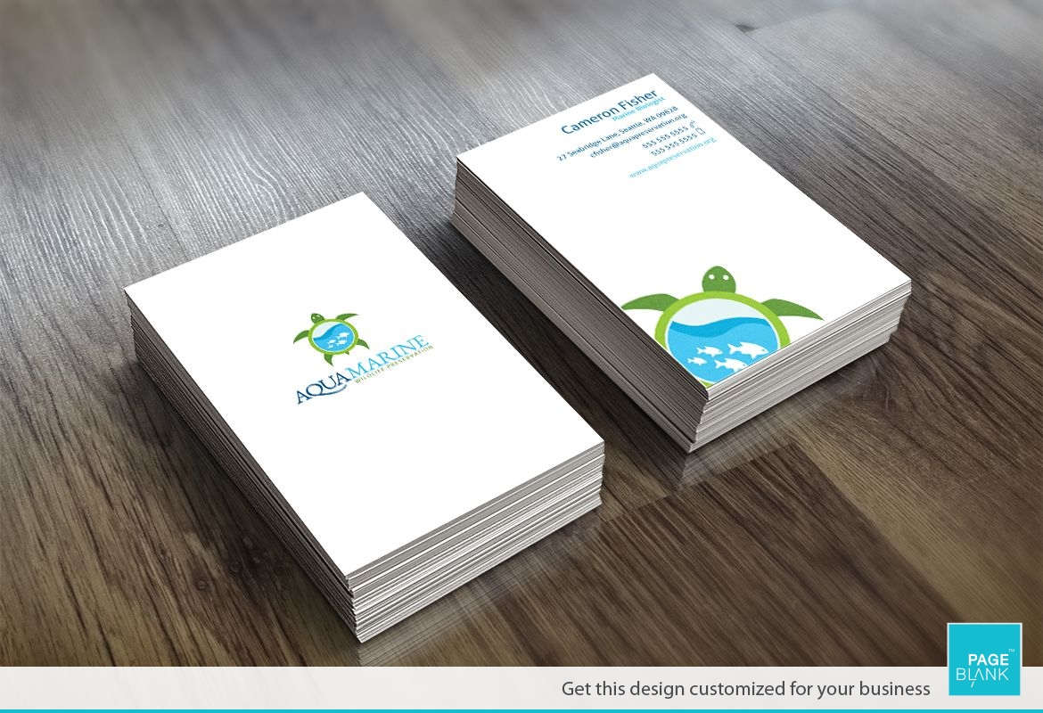 Sneek Peek Business Card Design Layout